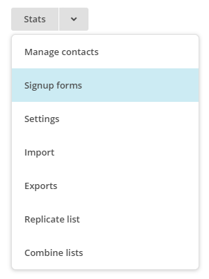 mailchimp-signup-forms